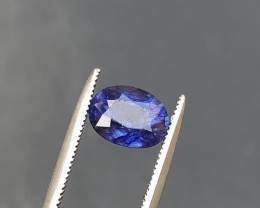 AAA Grade 1.85 ct Attractive Royal Blue Sapphire eye Catching Color Ring Si