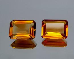 2.45Crt Madeira Citrine Lot Natural Gemstones JI123