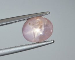 Natural Padpardscha Star Sapphire 2.74 Cts from Burma, Excellent Quality Ge