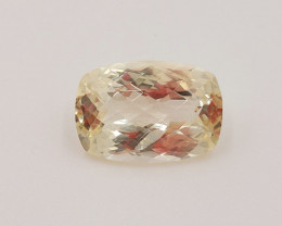 Nice Heliodor Oval checker Cut 8.34 Cts