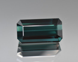11.55 Cts  Natural Indicolite Tourmaline, Top Quality