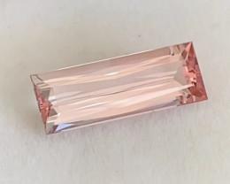 Very Pretty Peach Pink Tone Tourmaline - Brazil