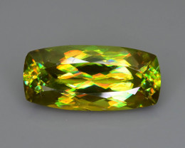 Titanite aka Sphene 4.38 ct Full Color Brilliance Madagascar  Sku-69