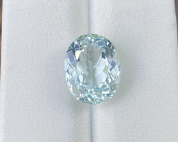 Natural Aquamarine 5.30 Cts Good Quality Gemstone