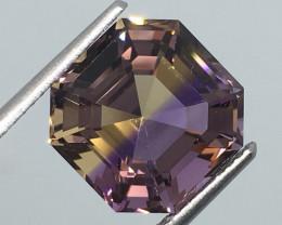 6.15 Carat VVS Ametrine Master Cut Bolivia Mined Rarest Quality !