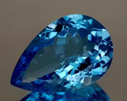 16Crt Natural Blue Topaz Natural Gemstones JI124