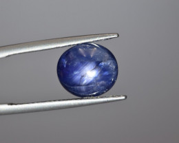Natural Star Sapphire 7.24 Cts from Burma