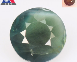 GIT Certified Alexandrite 2.07 Cts Amazing Rare Color Change Green To Purpl