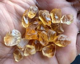100 Ct Natural Citrine Gemstone Rough Parcel VA3163