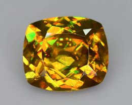 Imperial Sphene 2.53 ct Amazing Brilliance Tanzania Sku-70