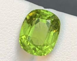 4.35 Carats  Natural  Peridot Gemstone