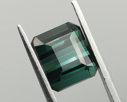 Tourmaline, 1.78ct, super blue, great for jewelry!