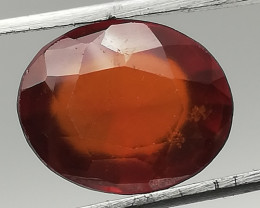 Hessonite, 4.155ct, great cut, great colour, great stone!