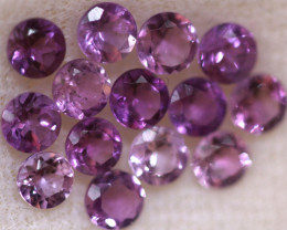 3.18 CTS 3 MM AMETHYST PARCEL -BRAZIL- [STS2103]