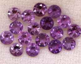 4.09 CTS 3 MM AMETHYST PARCEL -BRAZIL- [STS2104]
