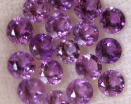 4.12 CTS 3 MM AMETHYST PARCEL -BRAZIL- [STS2105]