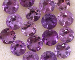 4.16 CTS 3 MM AMETHYST PARCEL -BRAZIL- [STS2106]