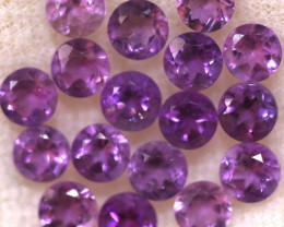 4.20 CTS 3 MM AMETHYST PARCEL -BRAZIL- [STS2107]