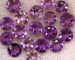 4.04 CTS 3 MM AMETHYST PARCEL -BRAZIL- [STS2108]