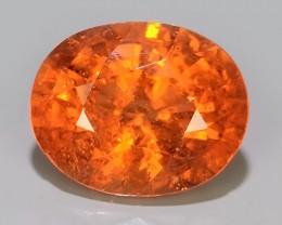 2.05 Cts Unheated Natural Orange Spessartite Garnet Namibia Gem!