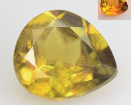SPHENE 1.63 Cts EXCELLENT COLOR CHANGE NATURAL