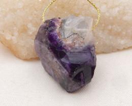 281cts Raw lapis pendant, crystal gemstone pendant,healing stone pendant H1