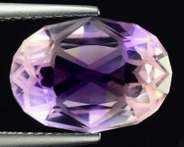 5.34 Cts Bolivian Ametrine Stunning Luster & Cut Gemstone  AF8
