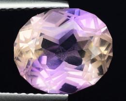 4.87 Cts Bolivian Ametrine Stunning Luster & Cut Gemstone  AF11