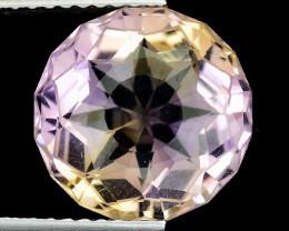 4.01 Cts Bolivian Ametrine Stunning Luster & Cut Gemstone  AF12