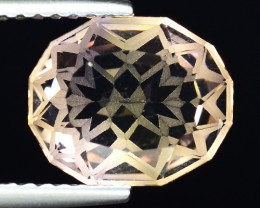 2.67 Cts Bolivian Ametrine Stunning Luster & Cut Gemstone  AF16