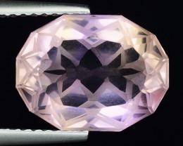 5.00 Cts Bolivian Ametrine Stunning Luster & Cut Gemstone  AF17