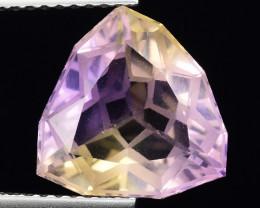 4.40 Cts Bolivian Ametrine Stunning Luster & Cut Gemstone  AF23