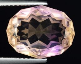 5.91 Cts Bolivian Ametrine Stunning Luster & Cut Gemstone  AF28