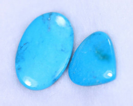 23.68cts Natural Sleeping Beauty Turquoise Pair / MA1149