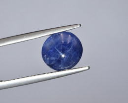 Natural Blue Sapphire 2.97 Cts Cabochon from Burma