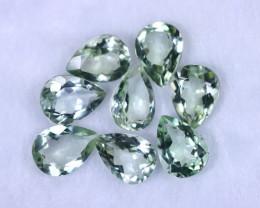 48.90cts Natural Green Amethyst Lots / MA1160