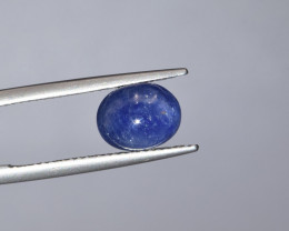 Natural Blue Sapphire 3.20 Cts Cabochon from Burma