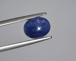 Natural Blue Sapphire 3.27 Cts Cabochon from Burma