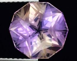 3.97 Cts Bolivian Ametrine Stunning Luster & Cut Gemstone  AF33