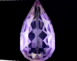 4.06 Cts Bolivian Ametrine Stunning Luster & Cut Gemstone  AF35