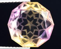 5.47 Cts Bolivian Ametrine Stunning Luster & Cut Gemstone  AF36
