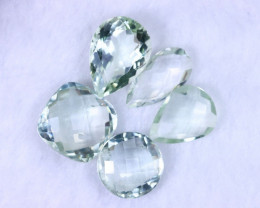 41.84cts Natural Green Amethyst Lots / MA1183
