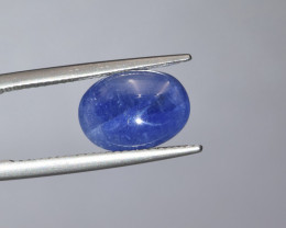 Natural Blue Sapphire 4.85 Cts Cabochon from Burma