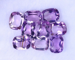 22.32cts Natural Purple Amethyst Lots / MA1198