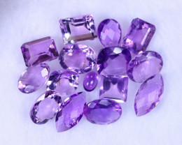 39.27cts Natural Purple Amethyst Lots / MA1200