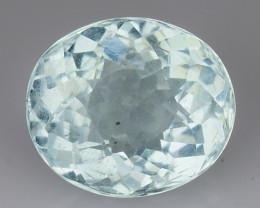 1.21 Ct Aquamarine Excellent Cut Top Quality Gemstone. NAQ 4