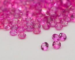 VVS! Round Cut Pink Sapphire 300 Pieces Free Ship!
