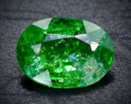 0.22 Crt Natural Tsavorite Faceted Gemstone.( AB 78)
