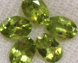 4.10 CTS PERIDOT  GEMS PARCEL [STS2136]
