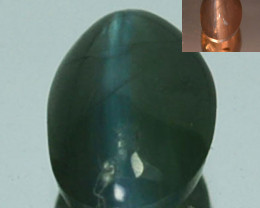 ~RAREST~ 0.51 Cts Natural Alexandrite Cat's Eye Color Change Sri Lanka